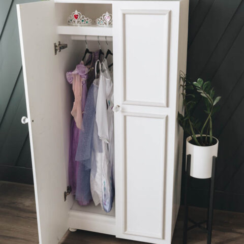 dress up wardrobe build plans