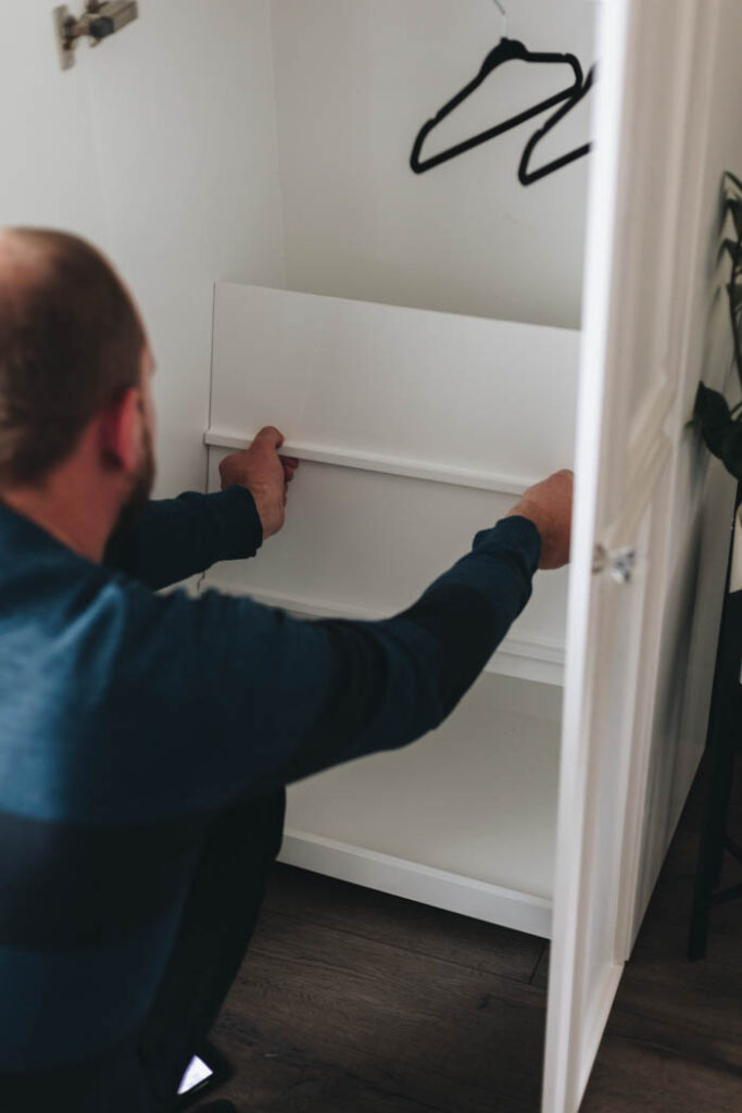 hidden storage for princess wardrobe