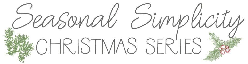 Seasonal Simplicity Logo