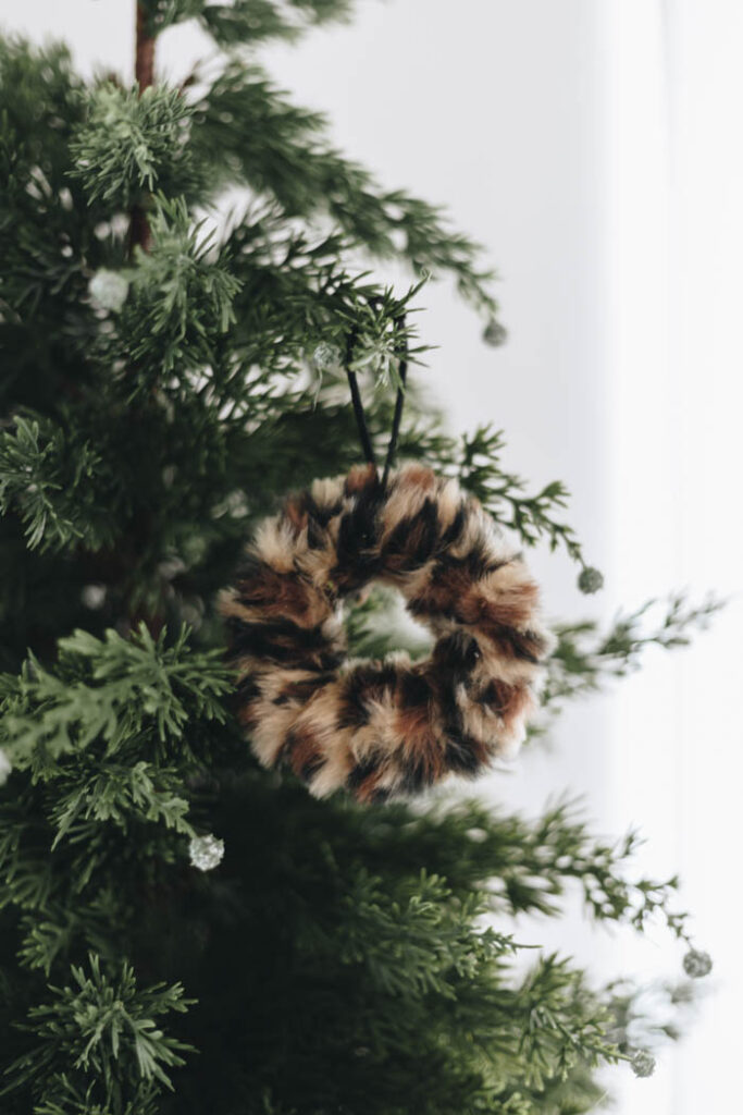 Leopard Print Christmas Decor