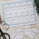 Minimal Holiday Gift Tag Ideas