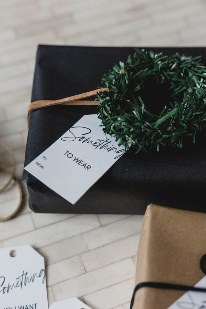 Sharing ideas for the Four gifts of Christmas rule