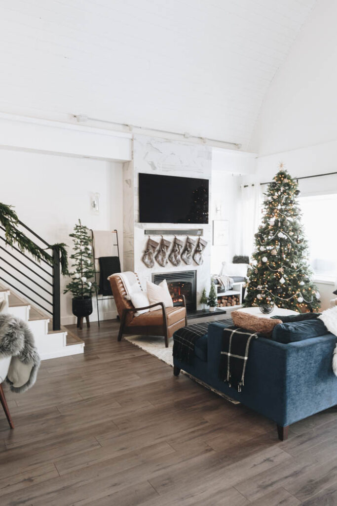 Decorating a living room without a mantel