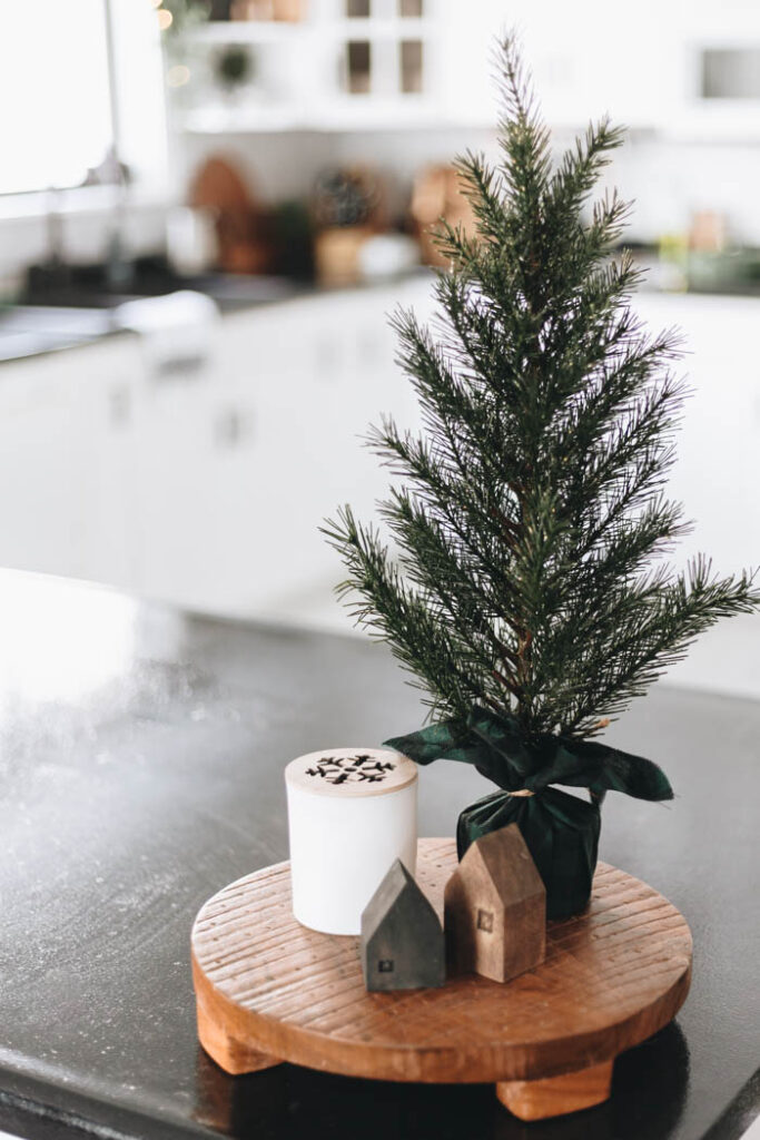 Countertop Kitchen Christmas Decorations
