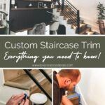 how to do custom trim and molding on stairs