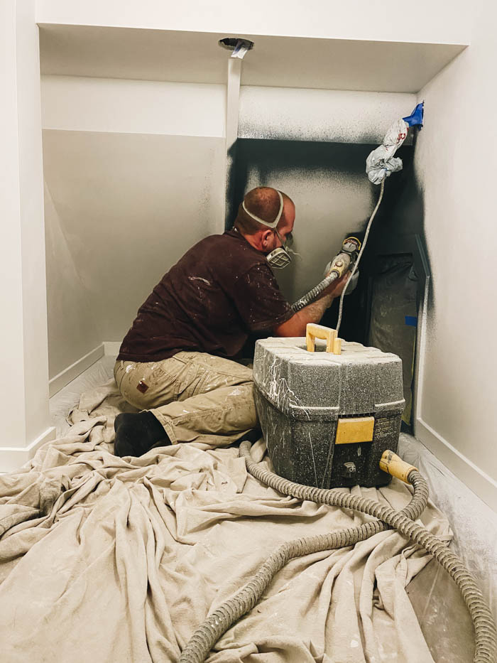 painting a small space