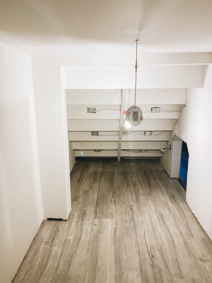 Renovating a Room Under the Stairs