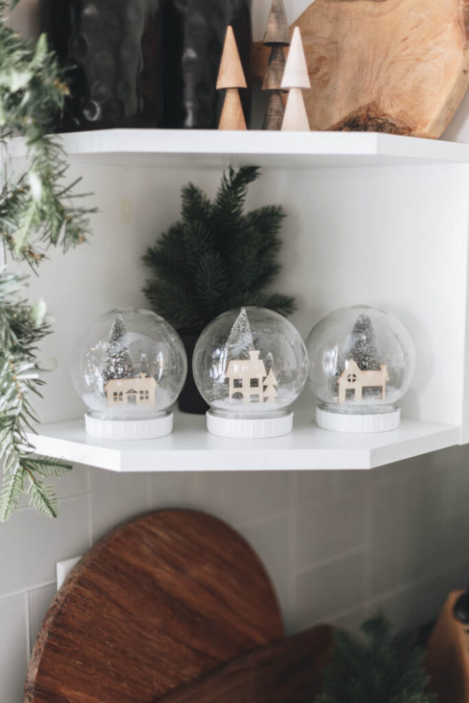 Snow globe decorations