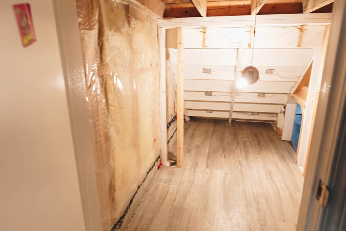 Renovating Space Under the Stairs