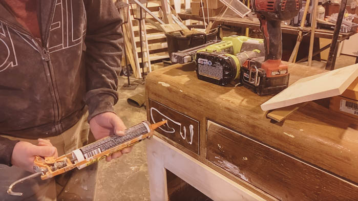 How to build new drawer fronts