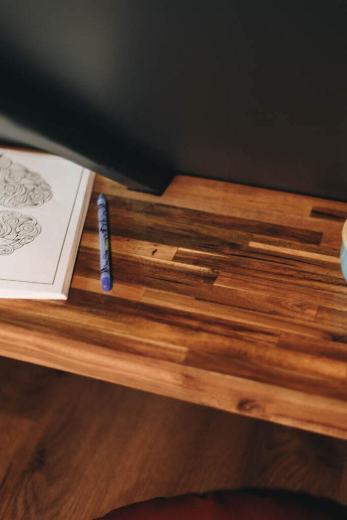 DIY desk for kids