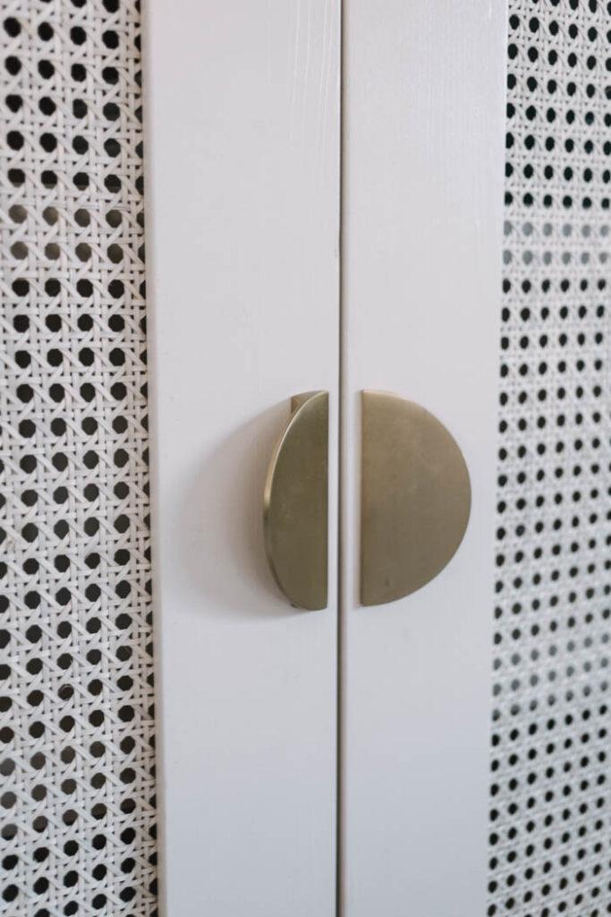modern beige cabinet