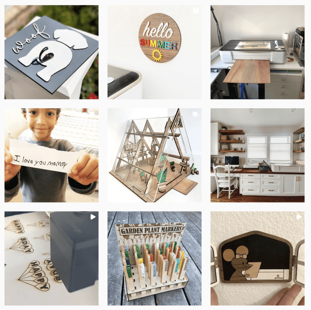 creative project ideas for the Glowforge