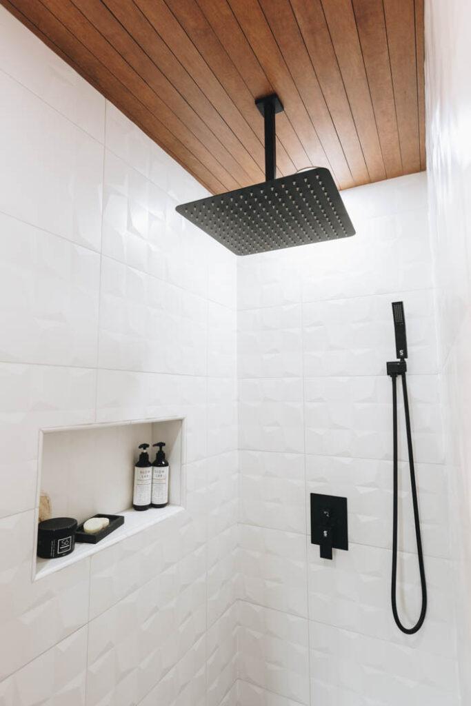 beautiful modern shower design