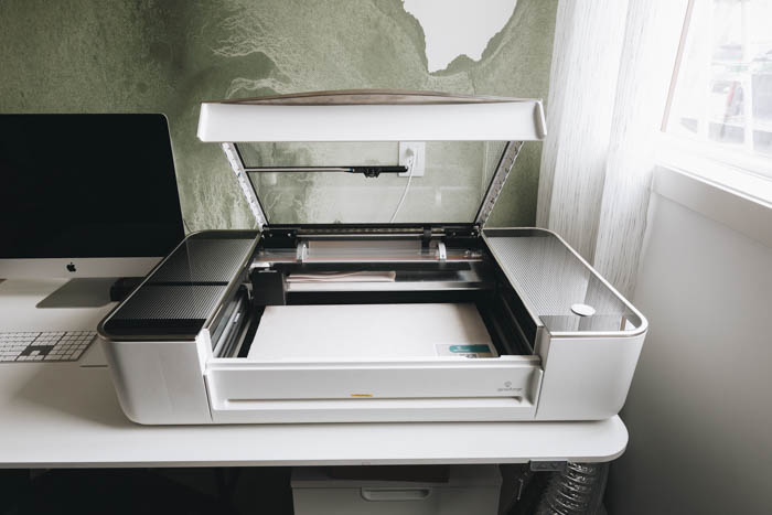 How to open the Glowforge