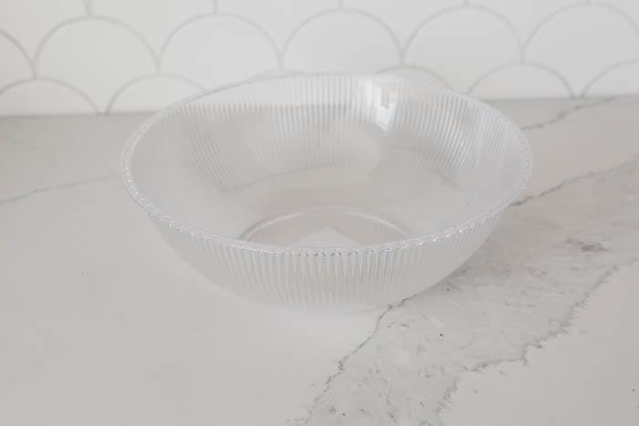plastic bowl dollar store DIY