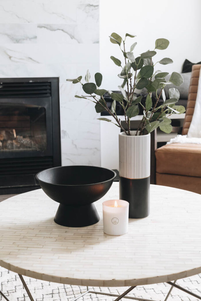 coffee table styling modern home