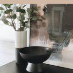 DIY pedestal bowl styling
