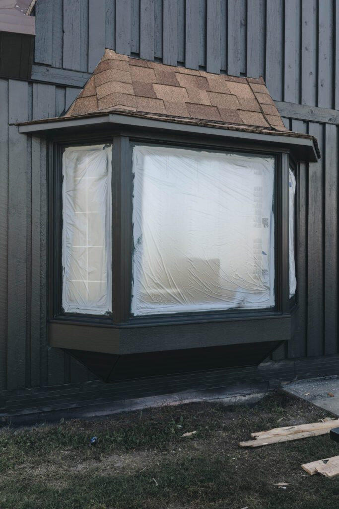 how to paint wood window frames