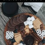 """Gorgeous fall dessert charcuterie board with text reading """"DIY Dessert Charcuterie Board"""""""