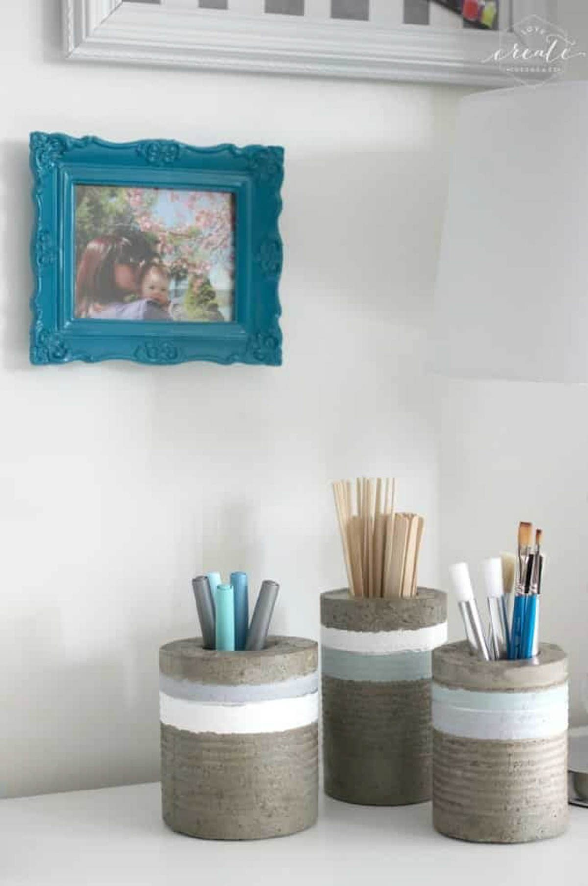 Image of concrete vases