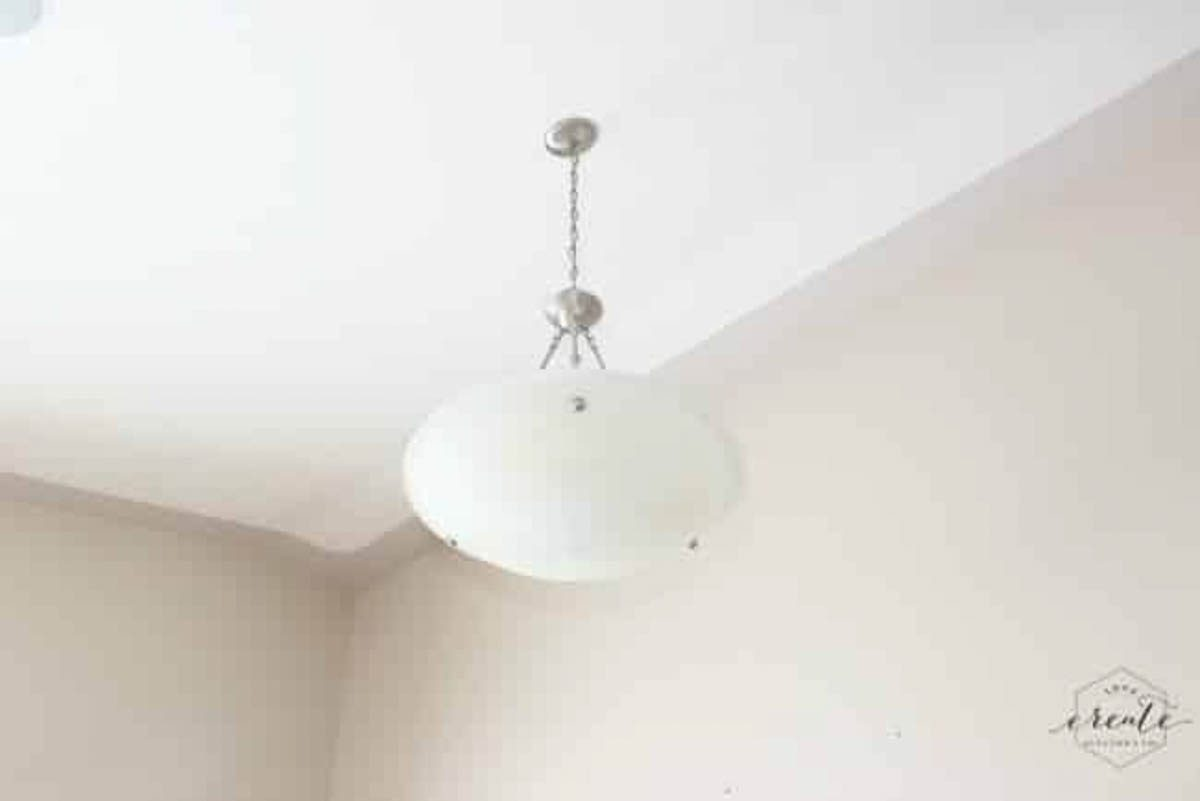 Old pendant light