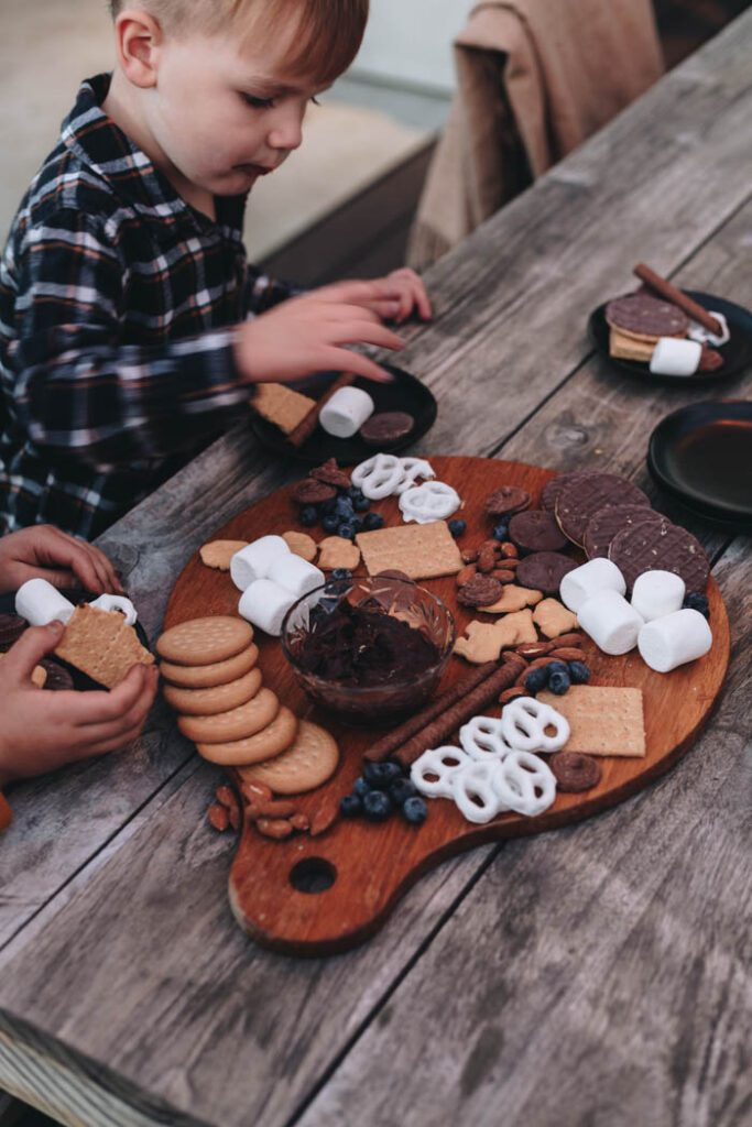 Beautiful charcuterie boards for kids